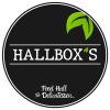 Hallbox's | Le meilleur de la street-food | Logo